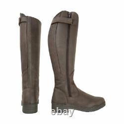 HyLAND Londonderry Winter Country Riding Boots Dark Brown EU 37