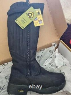 Kanyon Gorse W X-rider Black Country/riding Boots Size 7 Wide Calf
