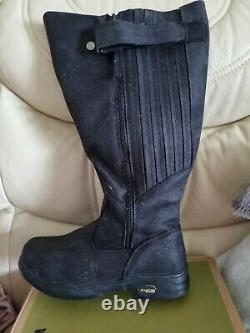 Kanyon Gorse Xw X-rider Black Country/riding Boots Size 8 Extra Wide Calf
