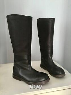Kinpurnie Dark Brown Leather Long Riding Boots Country Horse Outdoors Worn Once