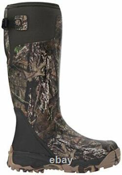 LaCrosse Men's Alphaburly Pro 18 Hunting Shoes Mossy Oak Break up Country 9