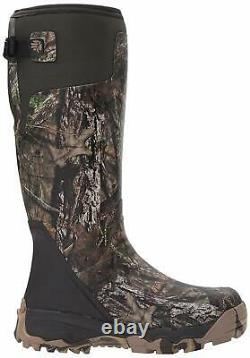 LaCrosse Men's Shoes Alphaburly Pro 18'' Almond Toe Knee, MultiColor, Size 10.0