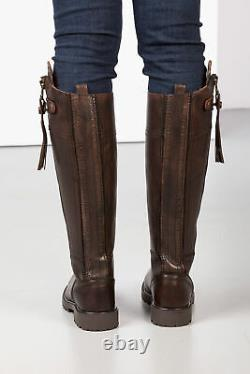 Ladies Haworth Tall Leather Country Full Zipped Riding Boot Rydale Women's Boot