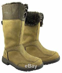 Ladies Kanyon Alder MID Country Boots Waterproof Horse Riding Yard Mucker Boots
