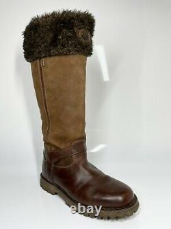 Ladies' Le Chameau Jameson Boots UK7.5 EU41 Wide Calf Brown (Ref 956 SRB)
