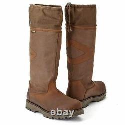 Ladies Mens Toggi Columbus Waterproof Horse Rider Country Fashion Leather Boots