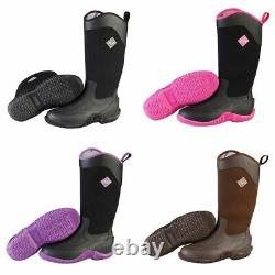 Ladies Neoprene Riding Boots Waterproof Horse Country Walking Outdoor All Sizes