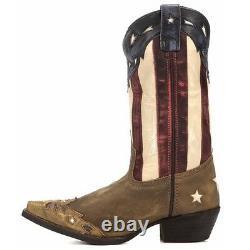 Laredo Ladies Keyes Stars and Stripes Boot 52165 New