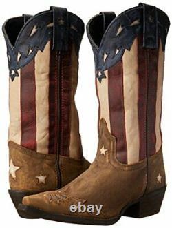 Laredo Women's Keyes Western Boot Tan/Multi 8 M US