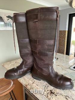 Leather DUBARRY GALWAY Walnut Boots Shooting Riding COUNTRY Boots UK 6.5 EU 40