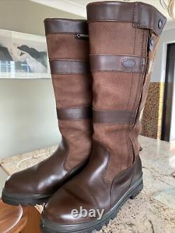 Leather DUBARRY WEXFORD Full ZipWalnut Boots Shooting Riding COUNTRY Boots UK 8