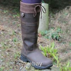Mark Todd Country Boots Mark ll brown EU 45 UK 10.5 reg. Fit long riding yard