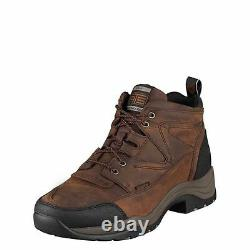 Mens Ariat Terrain Boots! For Riding, Work Or Casualwear-waterproof! 10002183