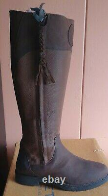 Moretta Pamina Country Boots UK 7 41 leather yard field riding 7.5