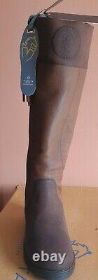 Moretta Pamina leather Country Boots UK6 6.5 yard field riding