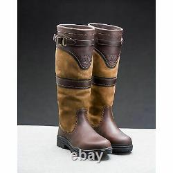 Mountain Horse Country/Riding Boots Long/Walking Leather Horse Waterproof UK 5