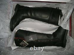Musto Stornoway Country/Riding Equestrian Gore-tex black leather boots Size 5/38