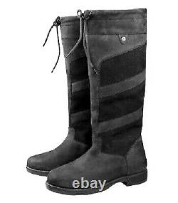 NEW ELT Waterproof Robust COUNTRY Riding Boots BLACK UK 8 EURO 42 SALE PRICE