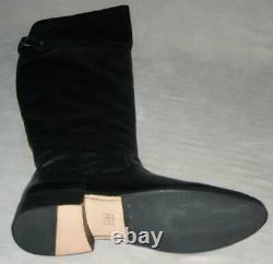 NEW Frye SHIRLEY Grain Leather OVER THE KNEE Boots Women 6.5 7 7.5 Black MSP$498