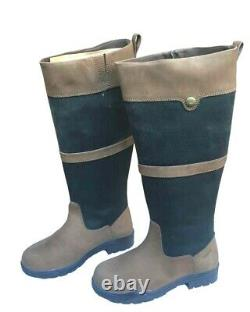 NEW PoleStar London Waterproof Leather Riding Boots Country Boots Sizes UK 5 8