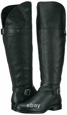 Naturalizer Women's January Wc Riding Boot 8 Wide Black