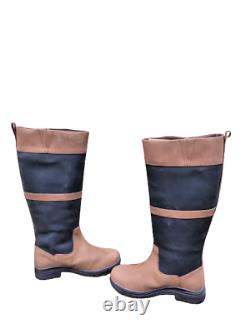 Polestar Country/Riding Boots Long/Walking Leather Horse Waterproof UK 5/38