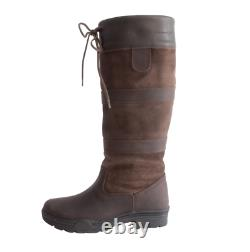 REQUISITE Granger Country Boots Ladies Brown Size UK 8 US 10 EU 42 REFCHS09
