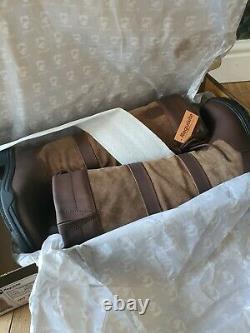 Requisite Granger Riding Country Boots Lace Ladies UK 6 EUR 39