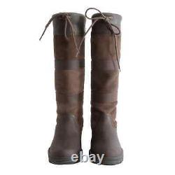 Requisite Womens Granger Boots Ladies Riding Boots Lace Fastening Country Shoes