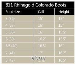 Rhinegold Colorado Long Country Walking Yard Boots Adjustable Calf