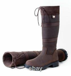 Rhinegold Elite Brooklyn Long Yard Country Walking Boots Brown