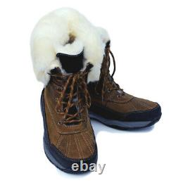 Rhinegold Original Arctic Winter Waterproof Leather Riding Stable Country Boots