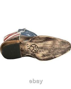 Roper Americana Patriotic Boot Snip Toe 09-021-0977-0102 BR