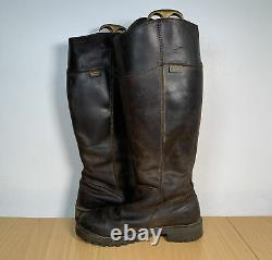 Rydale Women's Leather Brown Riding Country Knee High Boots Size UK 6 EUR 39