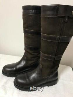 Shires Moretta Nella Country/Yard/Riding Boots Extra Wide Leg Size 4