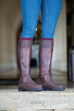 Shires Moretta Pamina Ladies Country Riding Boots Brown (8240)