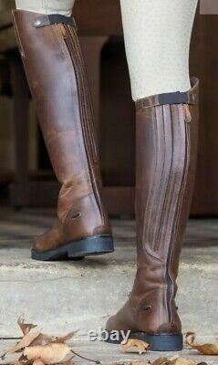 Shires Moretta Ventura Womens Riding Boots Brown UK 4 37 yard field country
