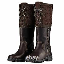 Teddington Ladies Country Boot Horse Riding Breathable Waterproof Stable Leather