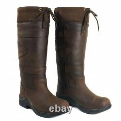 Toggi Canyon Country / Riding Boots Chocolate Wide Fit (UK/EU SIZES)