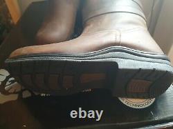 Toggi Canyon Long Waterproof Country / Riding Boots Chocolate Size 40 (UK 7)