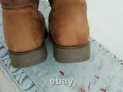 Toggi Canyon Tan Brown Suede Leather Country Yard Riding Boots 36 Fit Uk 4