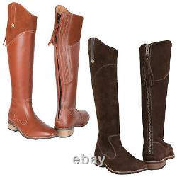 Toggi Ladies Morella Long Country Boots Leather Horse Riding Walking Show