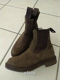 Trickers Sylvia Repello Suede Ladies Boots Horse Riding Country Size 4 Brand New
