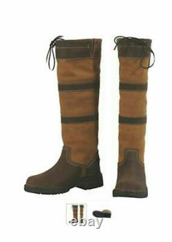 TuffRider Ladies Child Lexington Waterproof Tall Country Barn Riding Boots SALE
