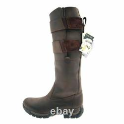 Tuffa Country Rider Boots UK 8 / 42 WIDE leg - Brown BN