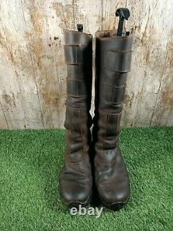 Tuffa Country Rider Long Brown Riding boot regular size 7 UK 40 EUR