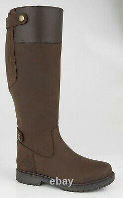 WOODLAND'HARPER' L257 Back Zip Gusset Country Riding Boots