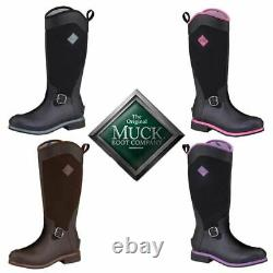 Wellington Riding Muck Boots Neoprene Waterproof Walking Tall Size Country Horse