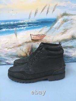 Wild Country Mens Black 8064 Leather Boots Sz 11 D