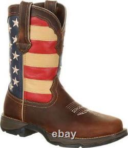 Women's Durango Boot DRD0234 Lady Rebel 10 Steel Toe Flag Work Boot